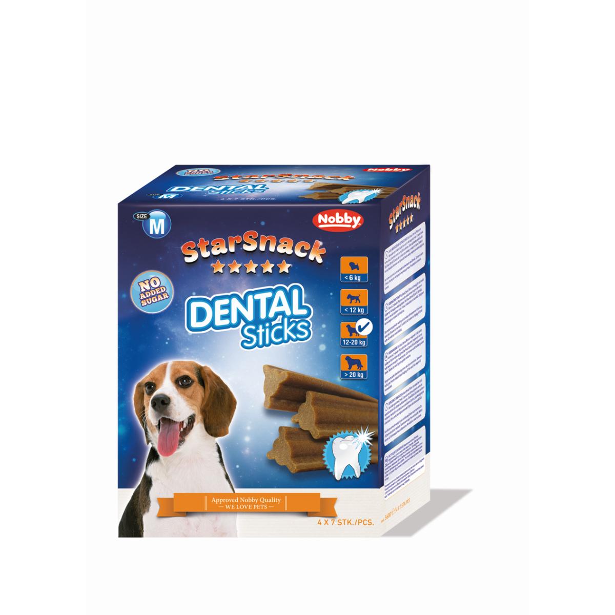 Nobby - starsnack dental sticks 609 gr