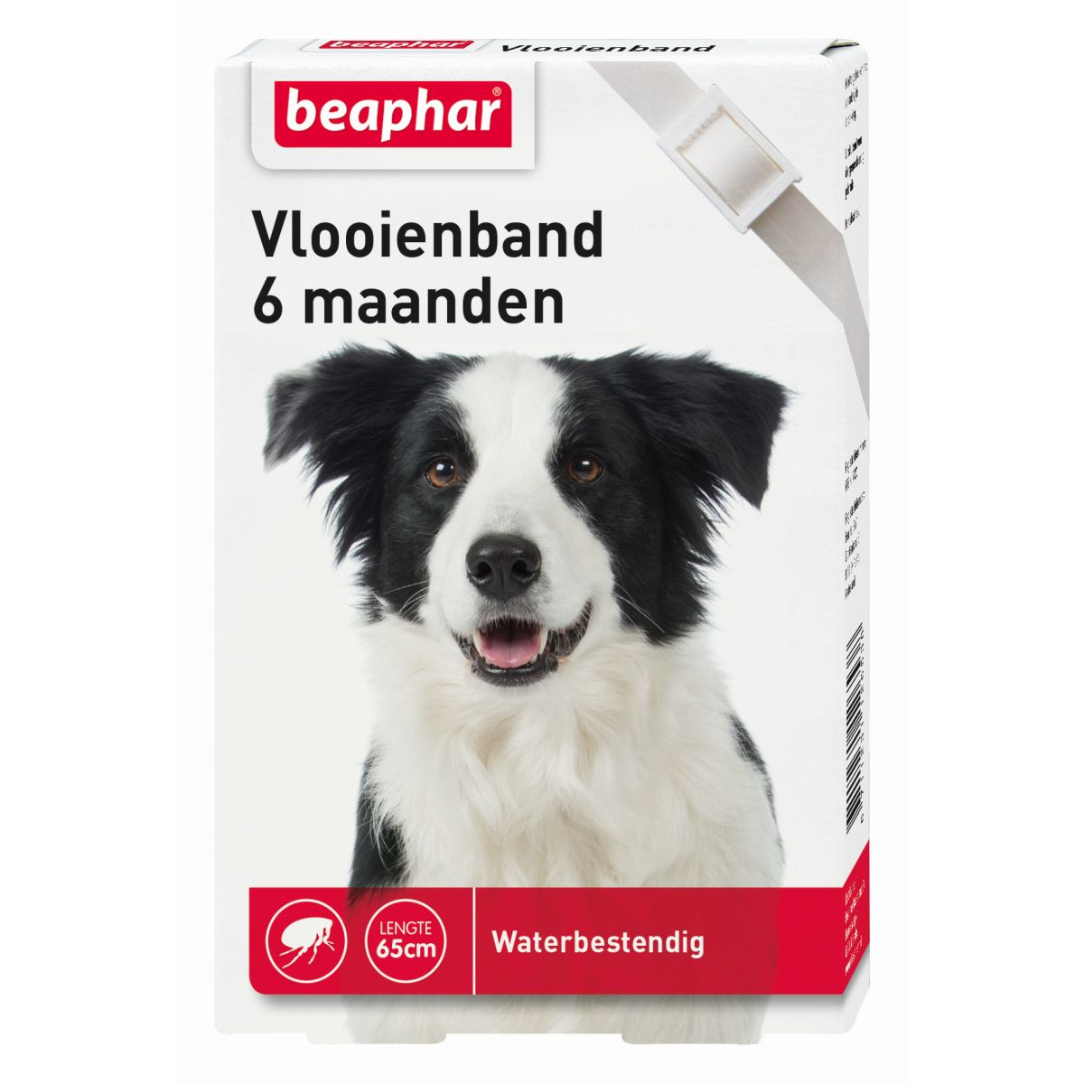 BEA VLOOIENBAND HOND WIT 00001