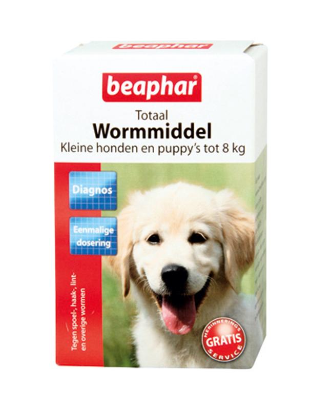 Beaphar - wormtabletten klein meerkleurig