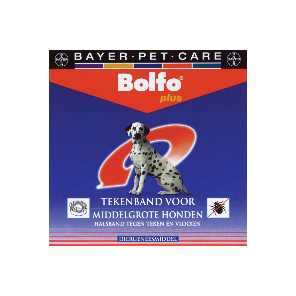 Bolfo - plus tekenband wit