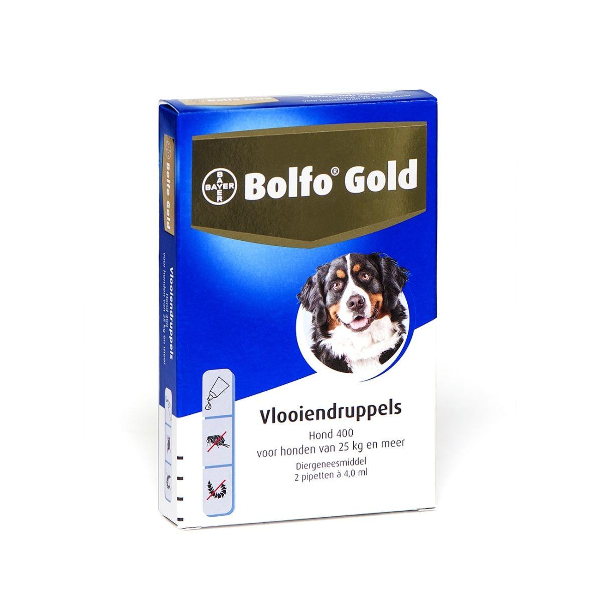 Bolfo - gold 2 pipet meerkleurig