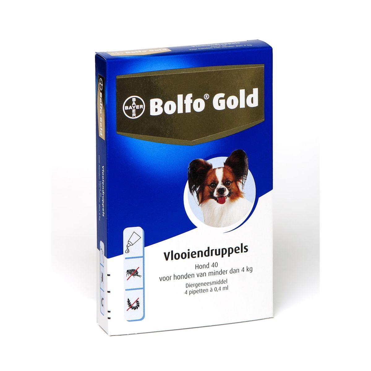 Bolfo - gold 4 pipet meerkleurig