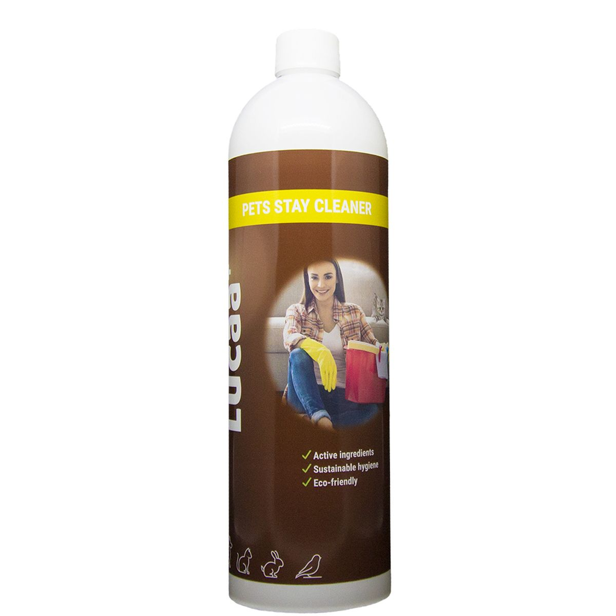 Productafbeelding voor 'LUCAA+ PETS STAY CLEANER 1LTR 00001'