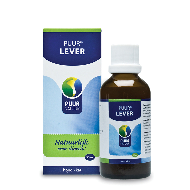 Lever transparant 50 ml