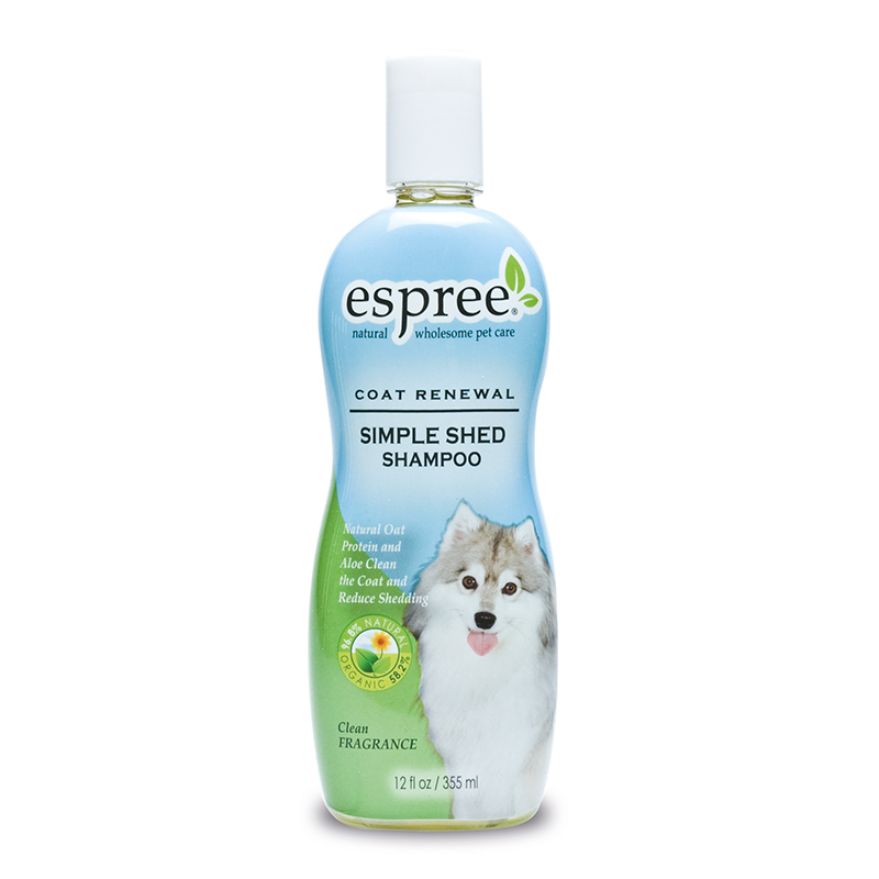 Simple shed shampoo meerkleurig 355 ml