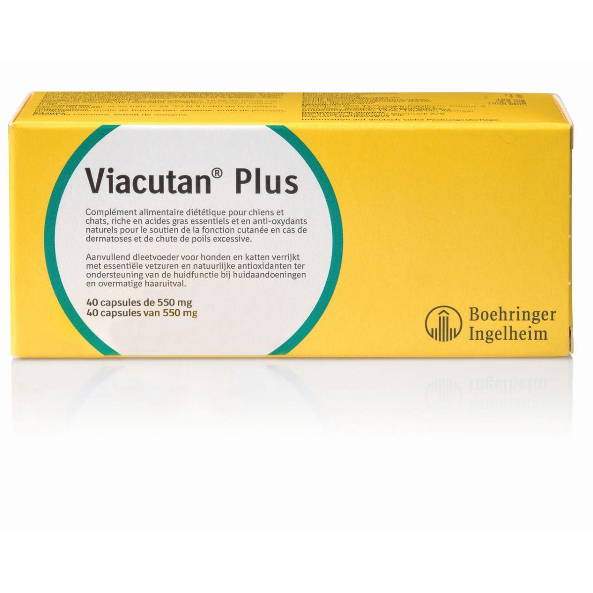 VIACUTAN PLUS 40 CAPSULES N 00001