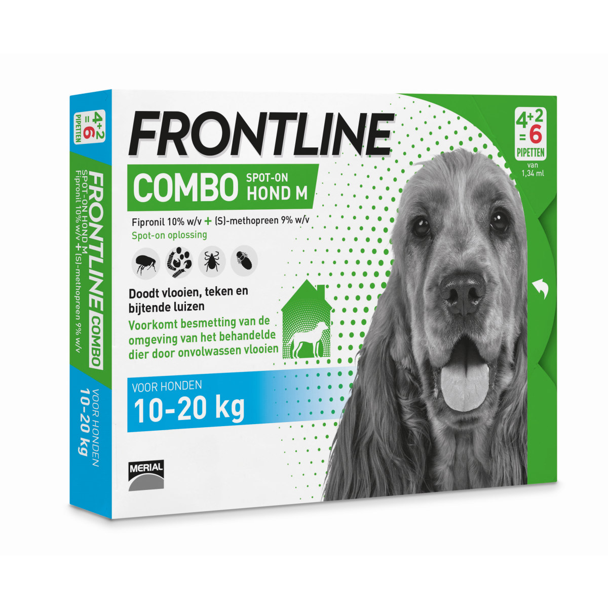 FRONTLINE COMBO HOND-M 6 PIP. 00001