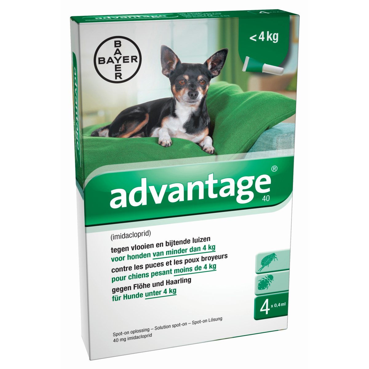 BA ADVANTAGE HOND 40 4PIP 00001