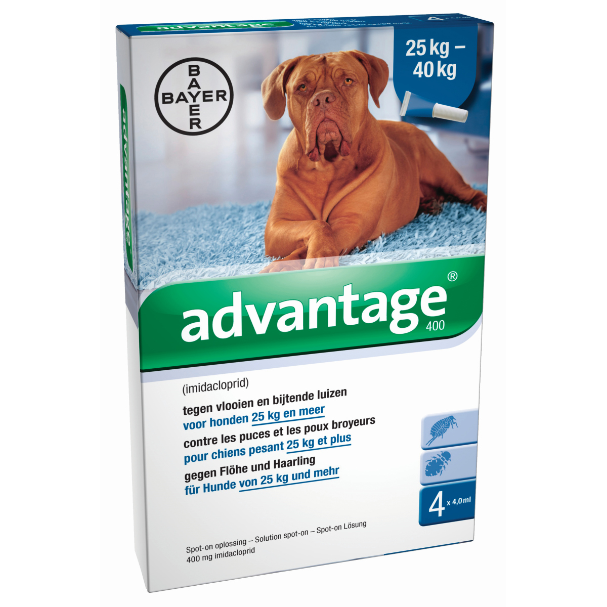 Advantage - 400 groen/wit