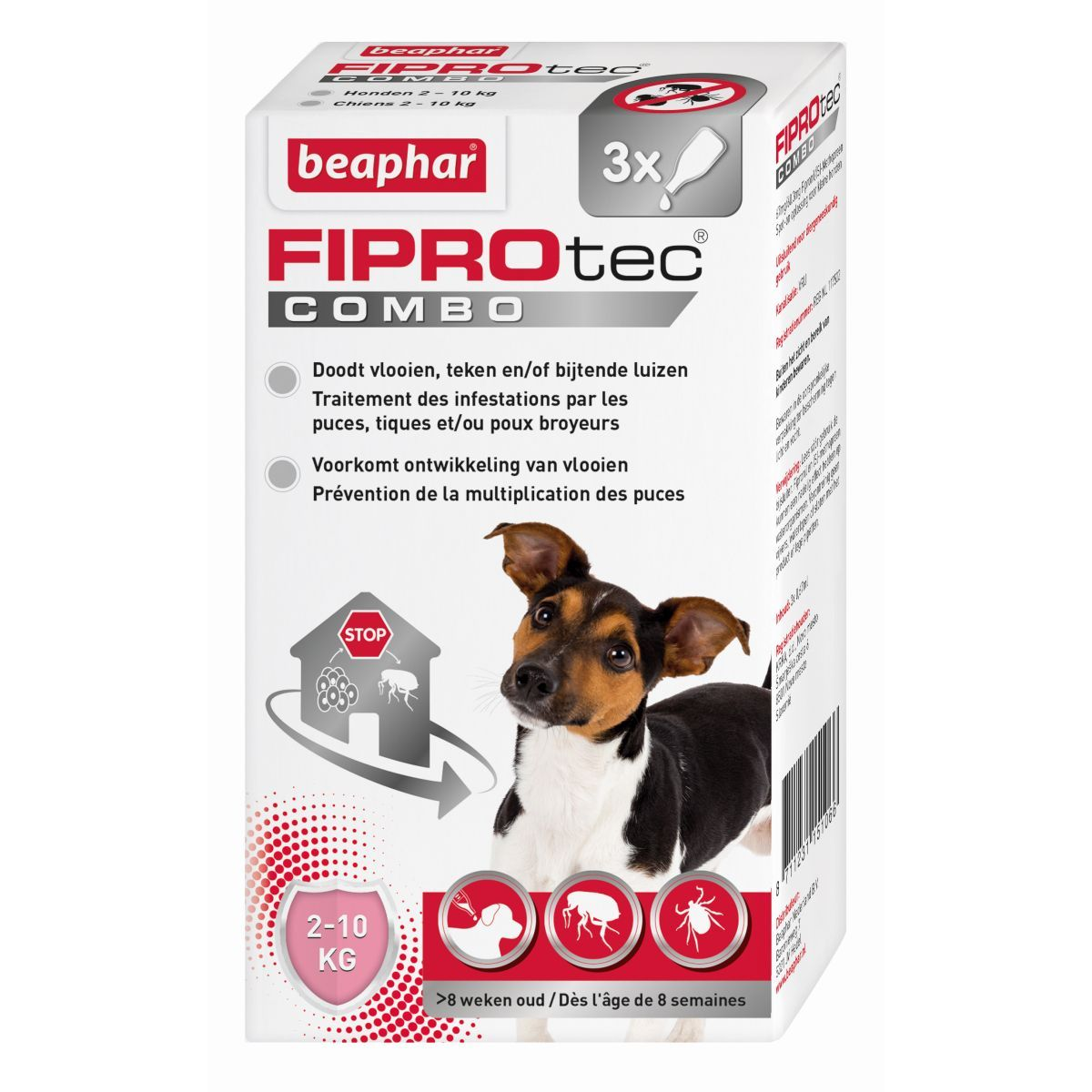 BEA FIPROTEC COMBO HOND 2-10 N 00001