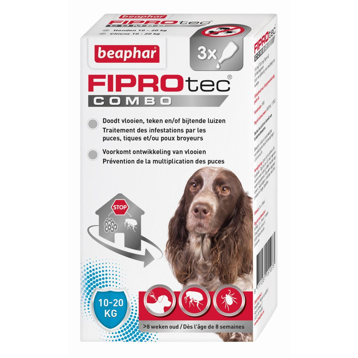 BEA FIPROTEC COMBO HOND 10-20 N 00001