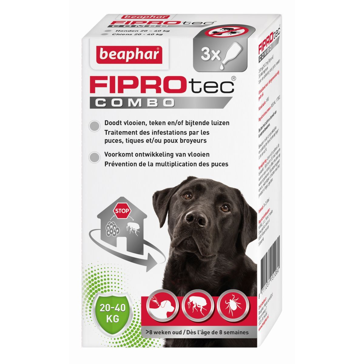 BEA FIPROTEC COMBO HOND 20-40 N 00001