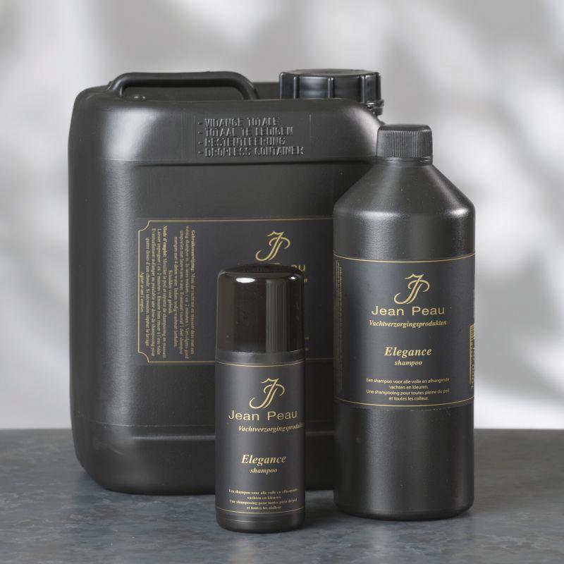 Jeanpeau - elegance shampoo zwart 200 ml