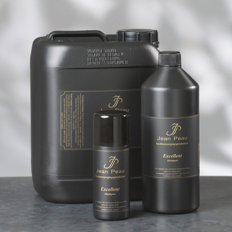 Jeanpeau - excellent shampoo zwart 200 ml
