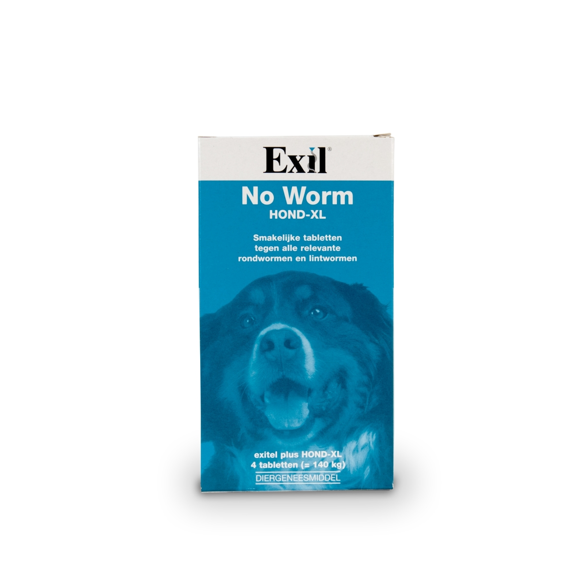 No worm hond xl meerkleurig 4 st