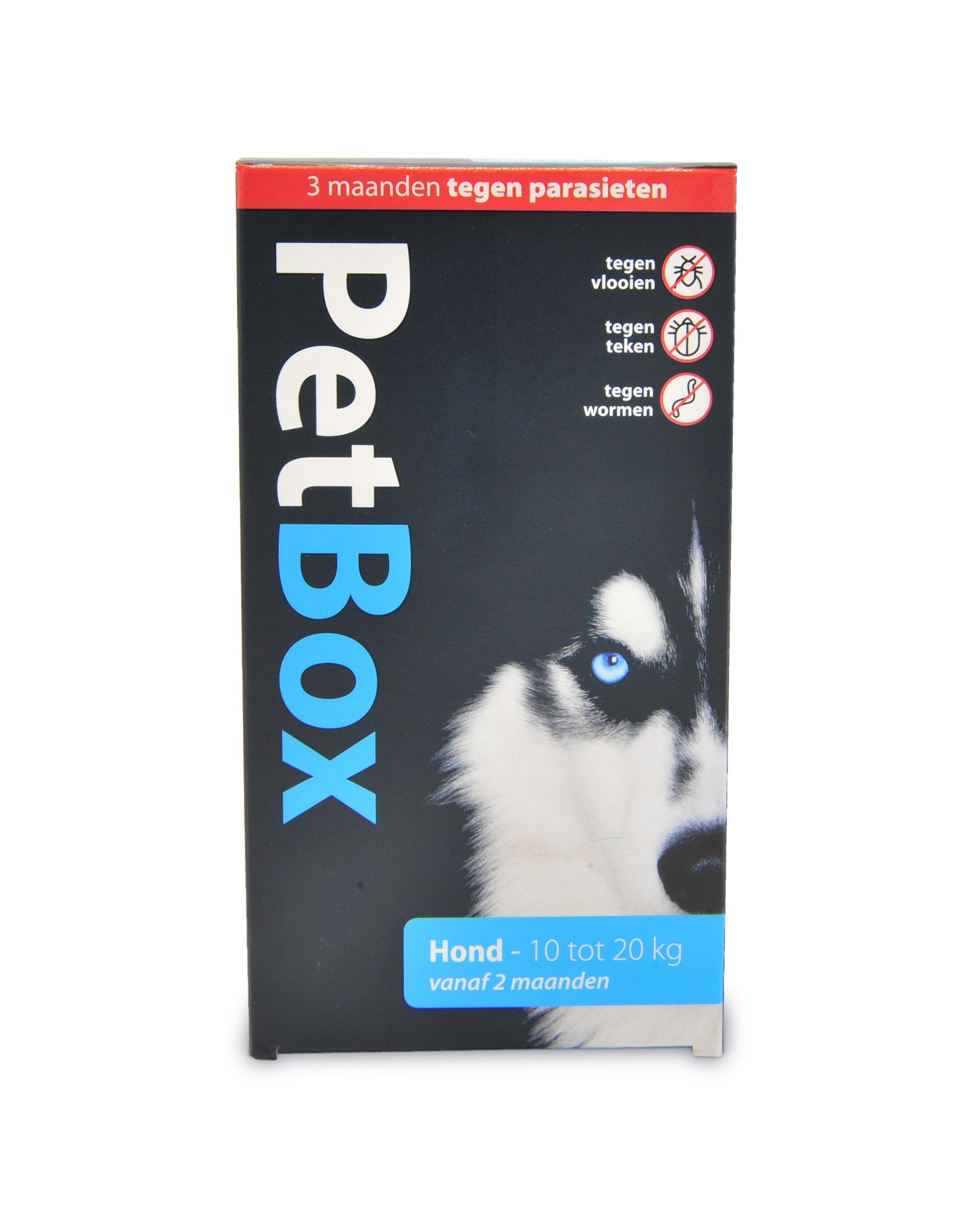 PETBOX HOND 10 20KG N 00001
