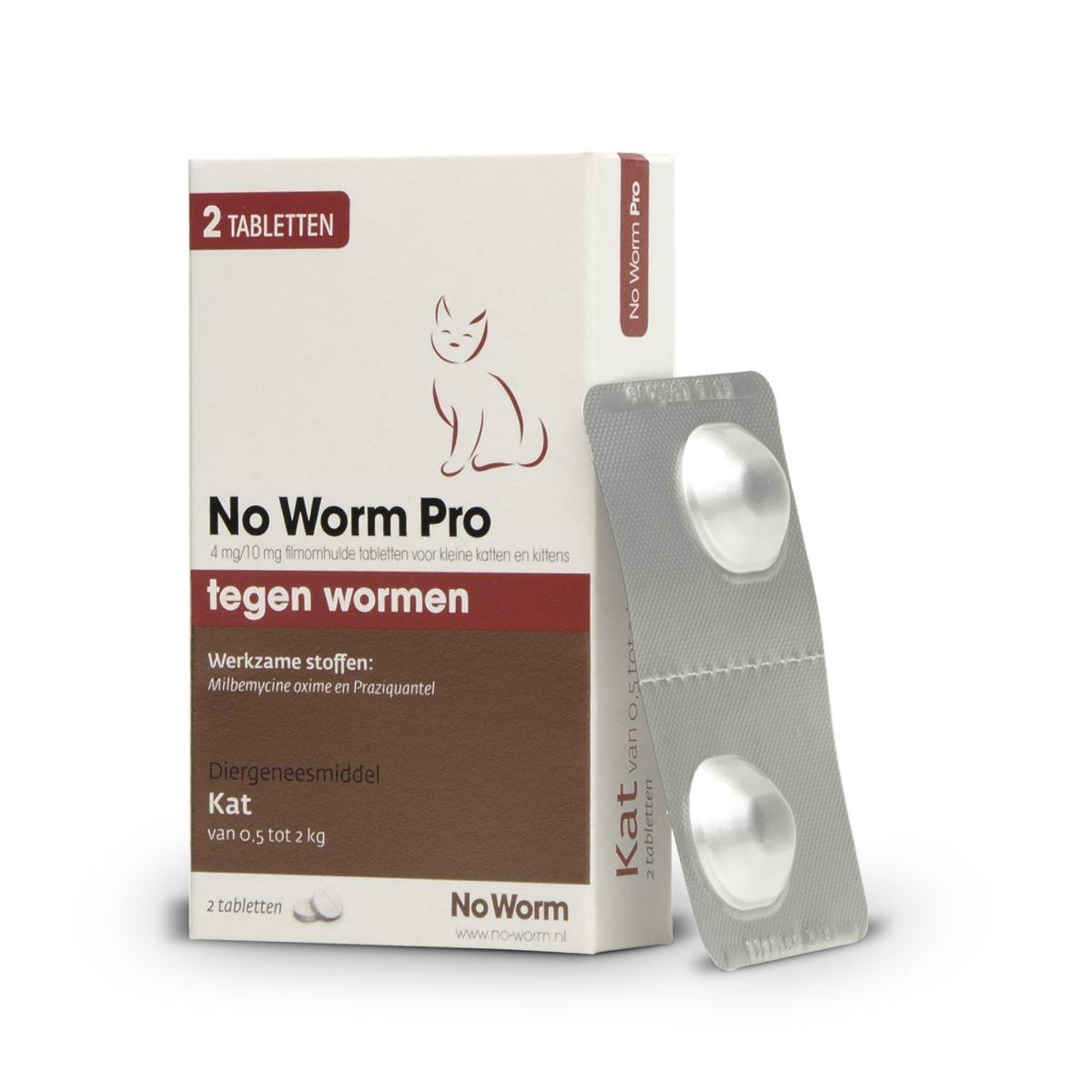 Productafbeelding voor 'No worm pro 2 tabl'