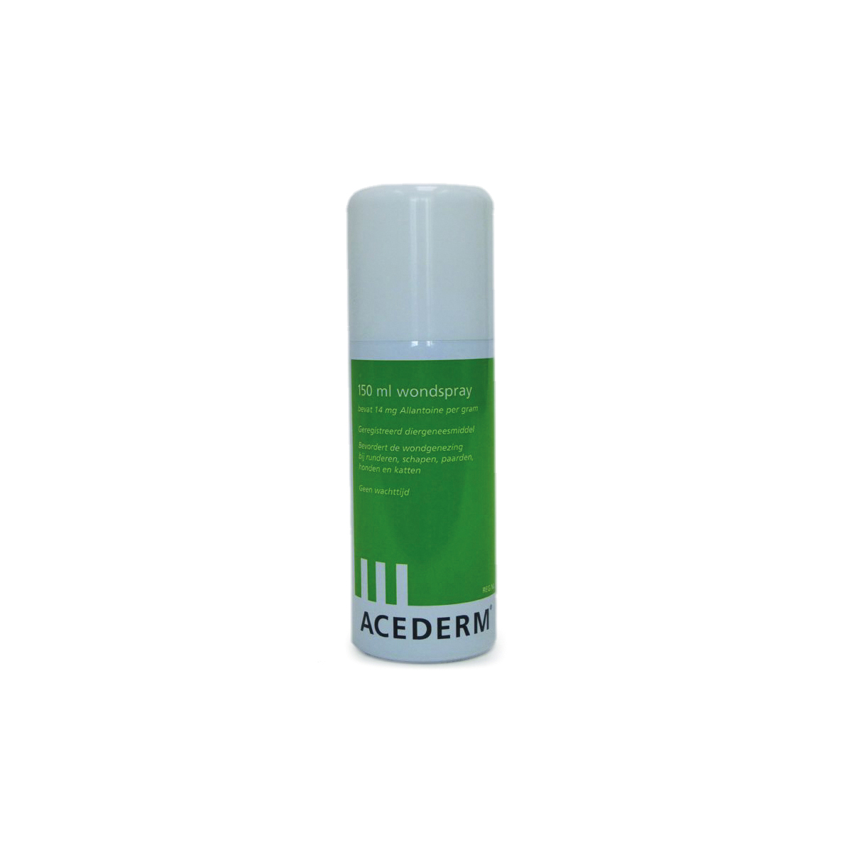 Wondspray wit/groen 150 ml