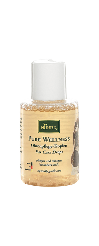 Pure wellness ear care drops transparant 50 ml