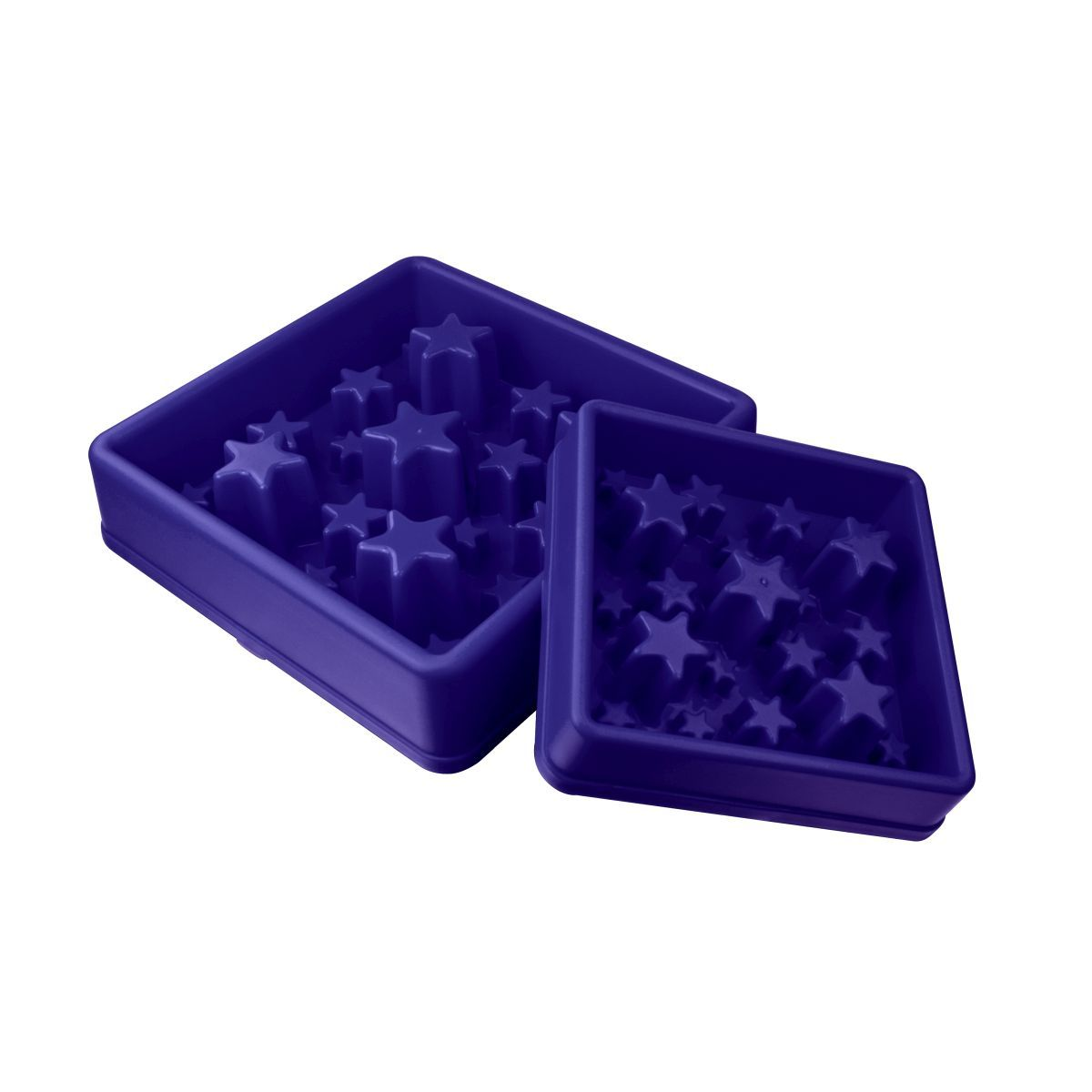 EAT SLOW STAR BLAUW SM N 00001