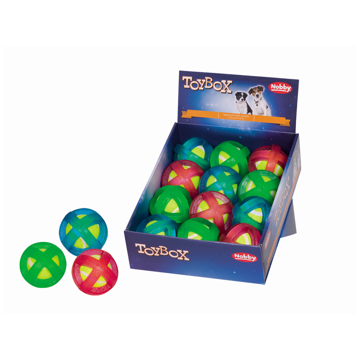 Rubber bal in bal mix