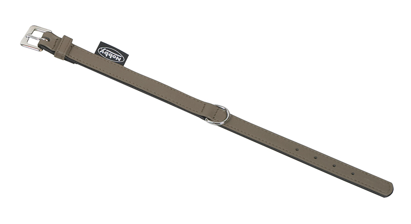 Nobby - halsband south donkergrijs