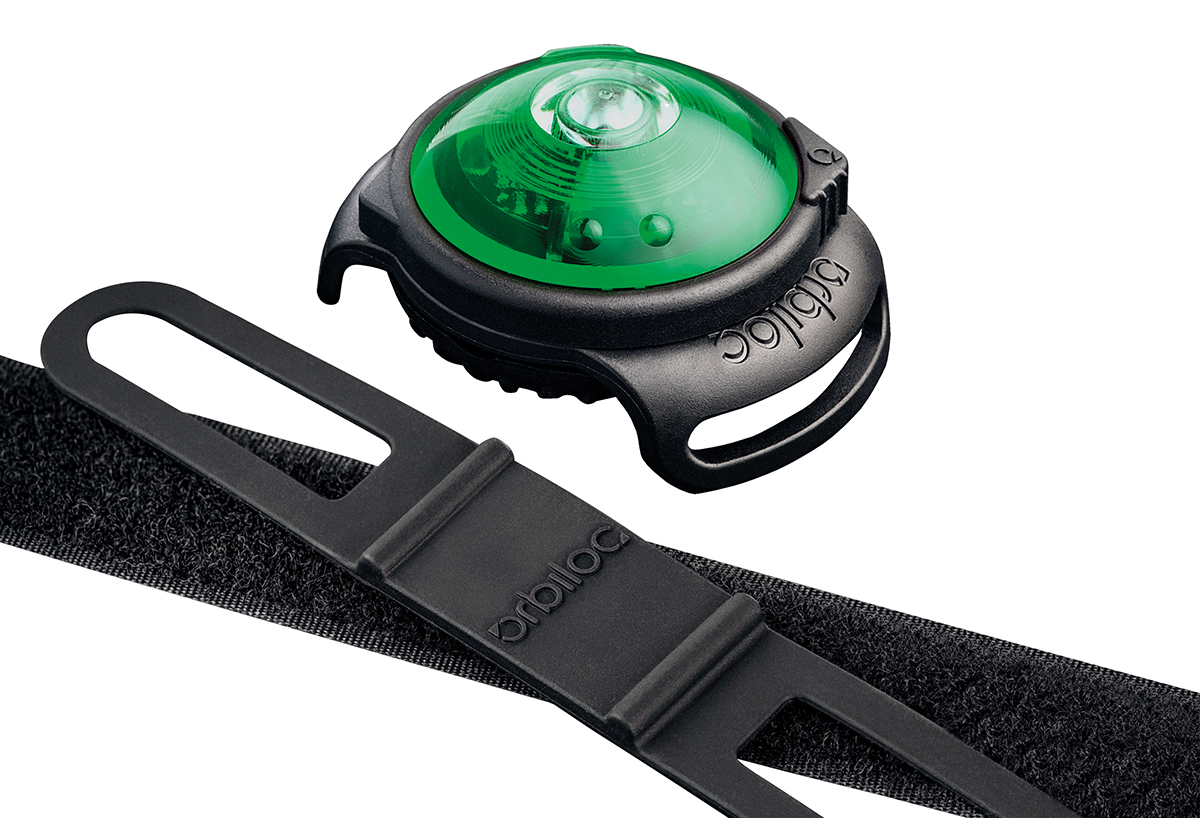 Orbiloc - dog dual safety light groen