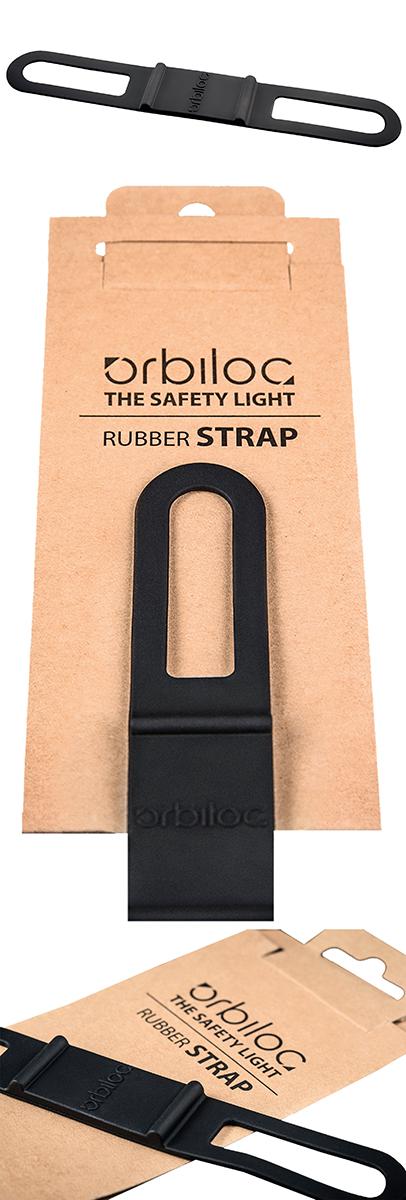 Rubberstrap zwart