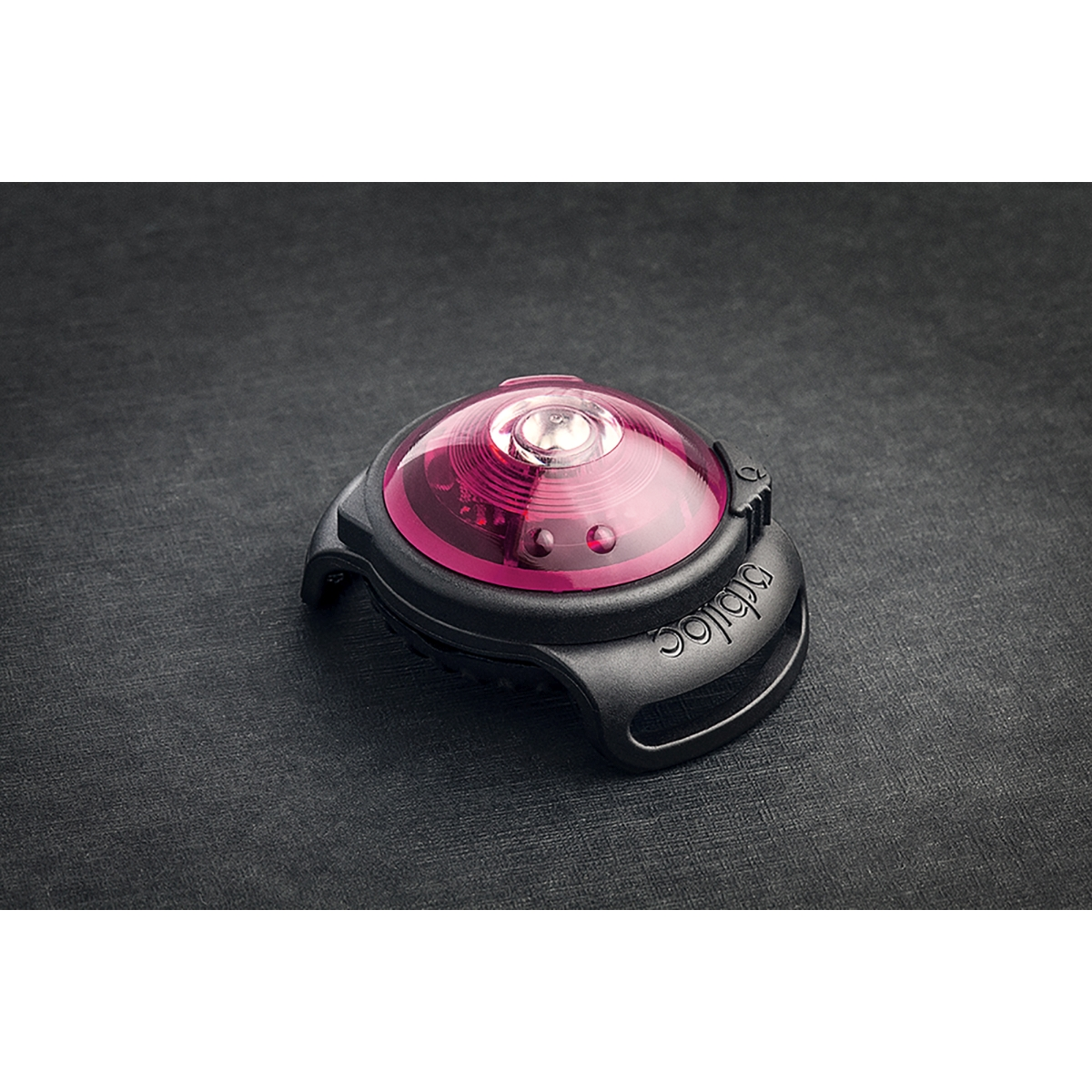 Orbiloc - dog dual safety light roze