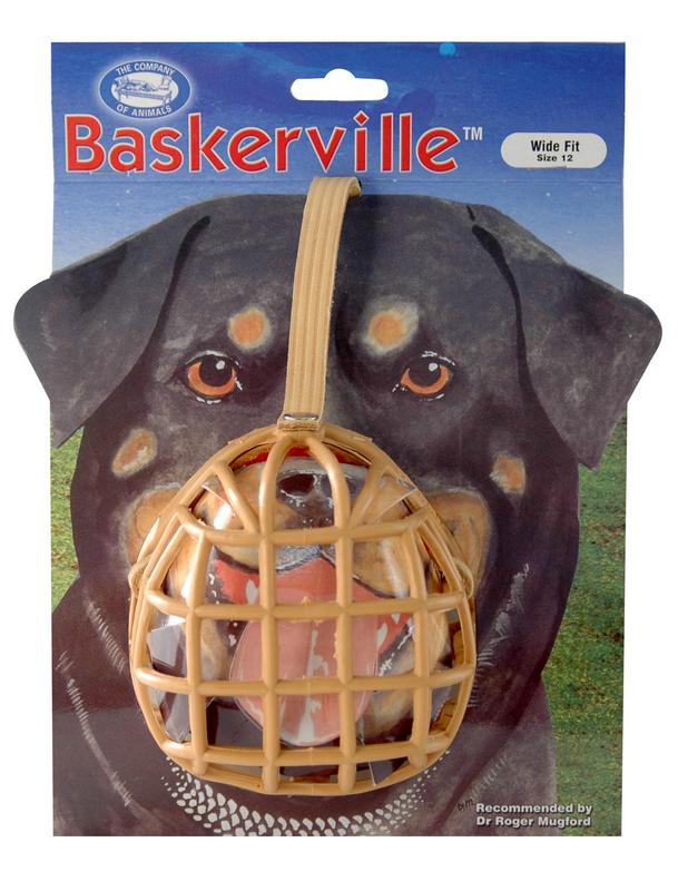 Baskerville - muilkorf 12 beige