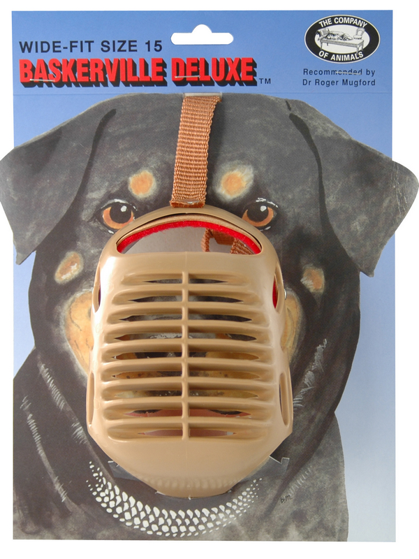 Baskerville - muilkorf 15 beige