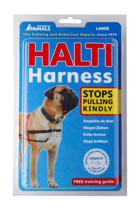 Halti - harnas zwart