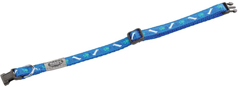 Nobby - halsband mini blauw