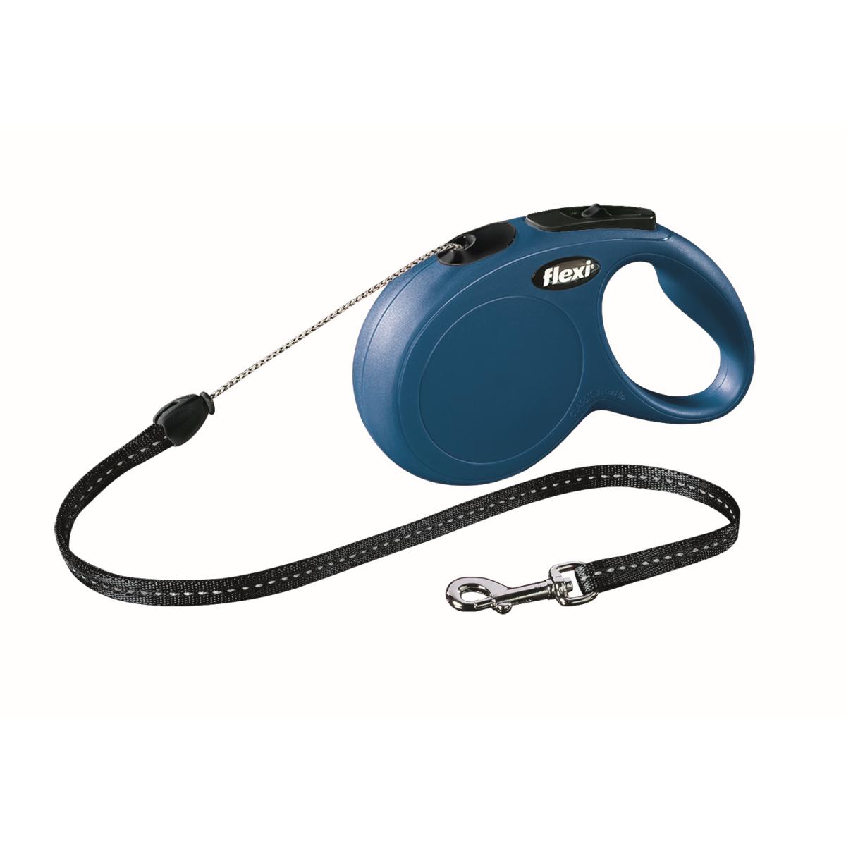 Productafbeelding voor 'Flexi - new classic cord s - 8 m blauw'