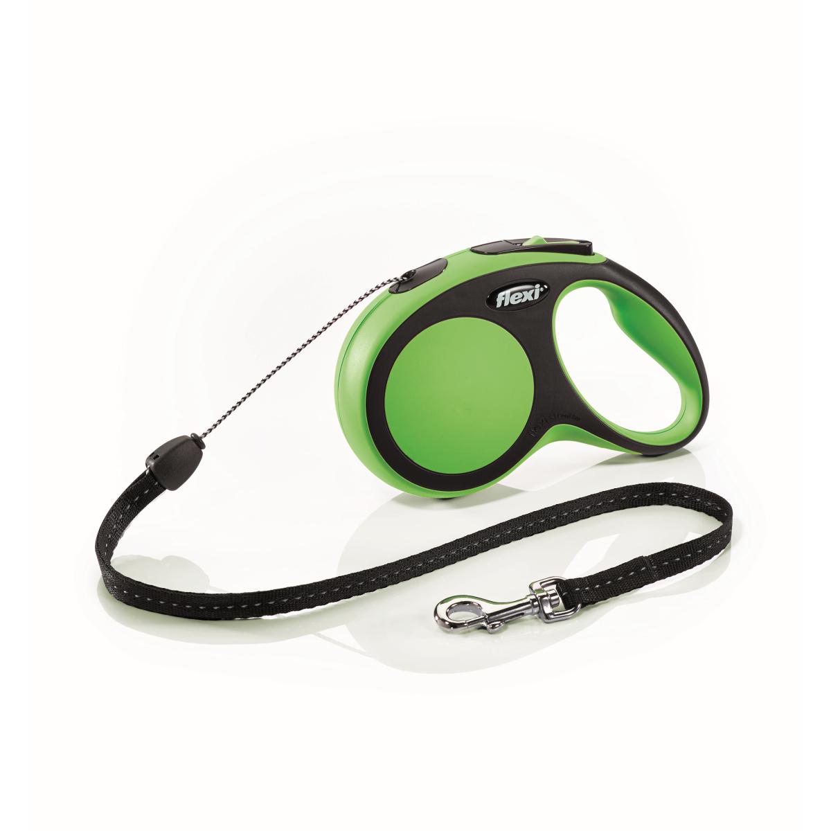 Flexi - new comfort cord s - 8 m groen