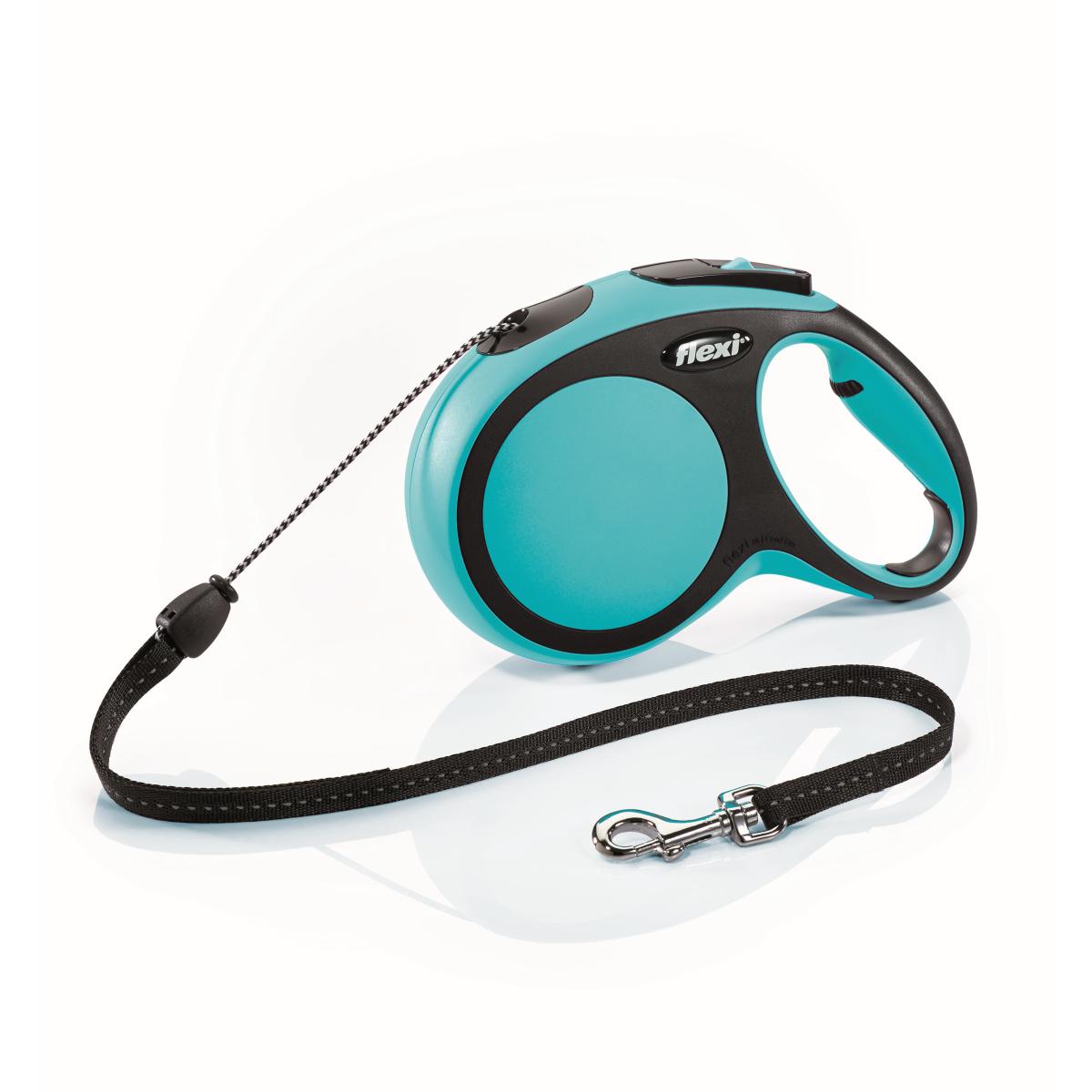 Flexi - new comfort cord m - 8 m blauw