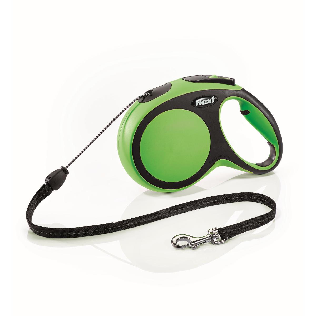 Flexi - new comfort cord m - 8 m groen
