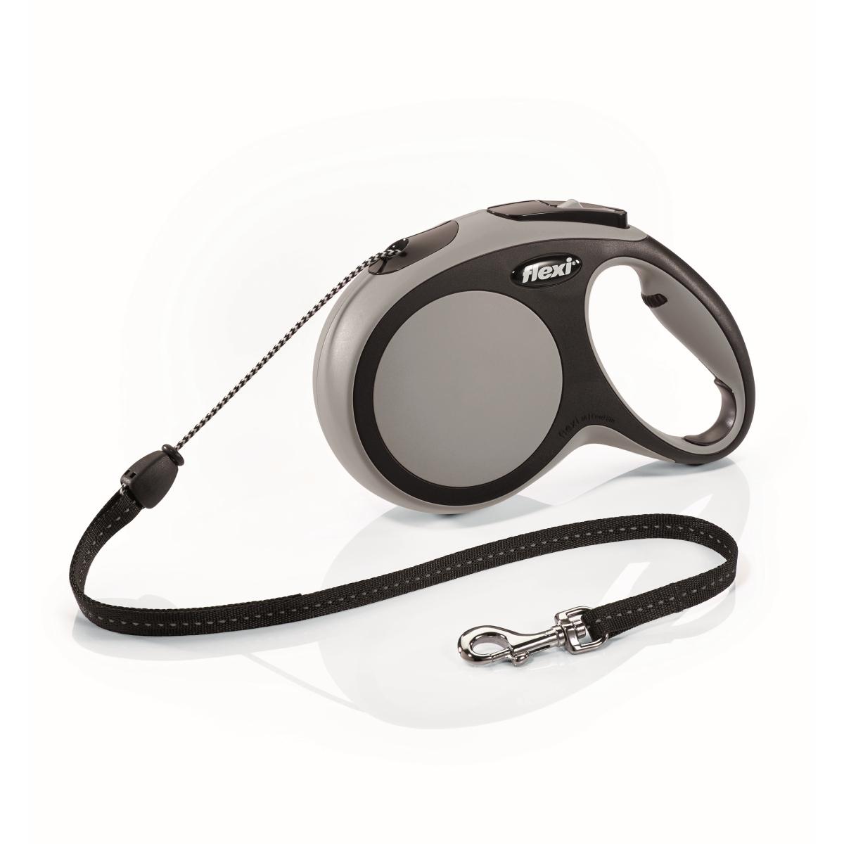 Flexi - new comfort cord m - 8 m grijs