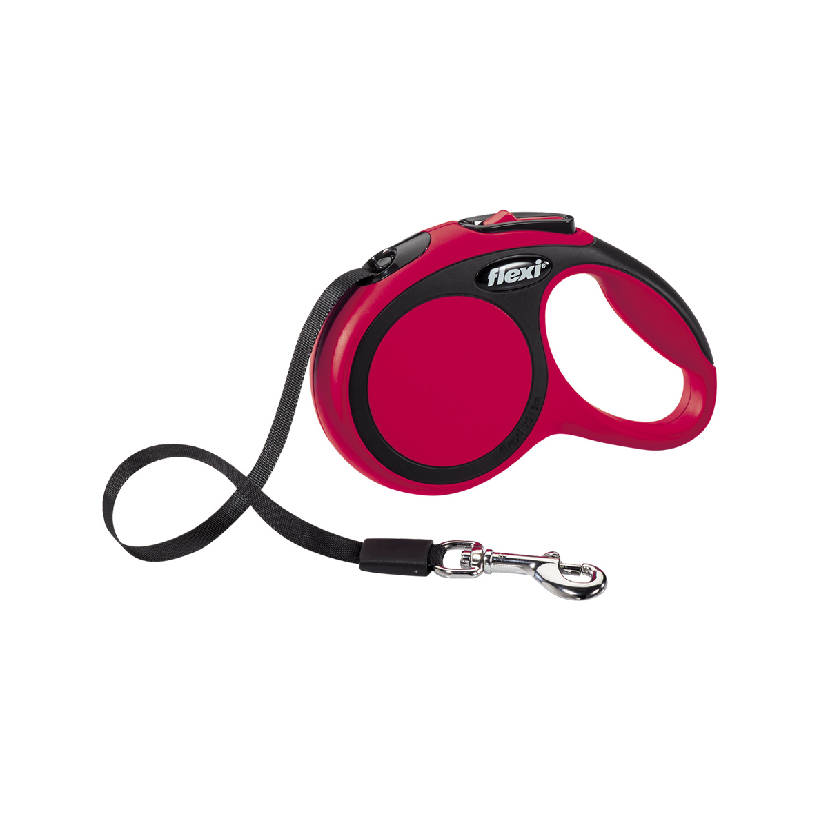 Flexi - new comfort tape xs - 3 m rood
