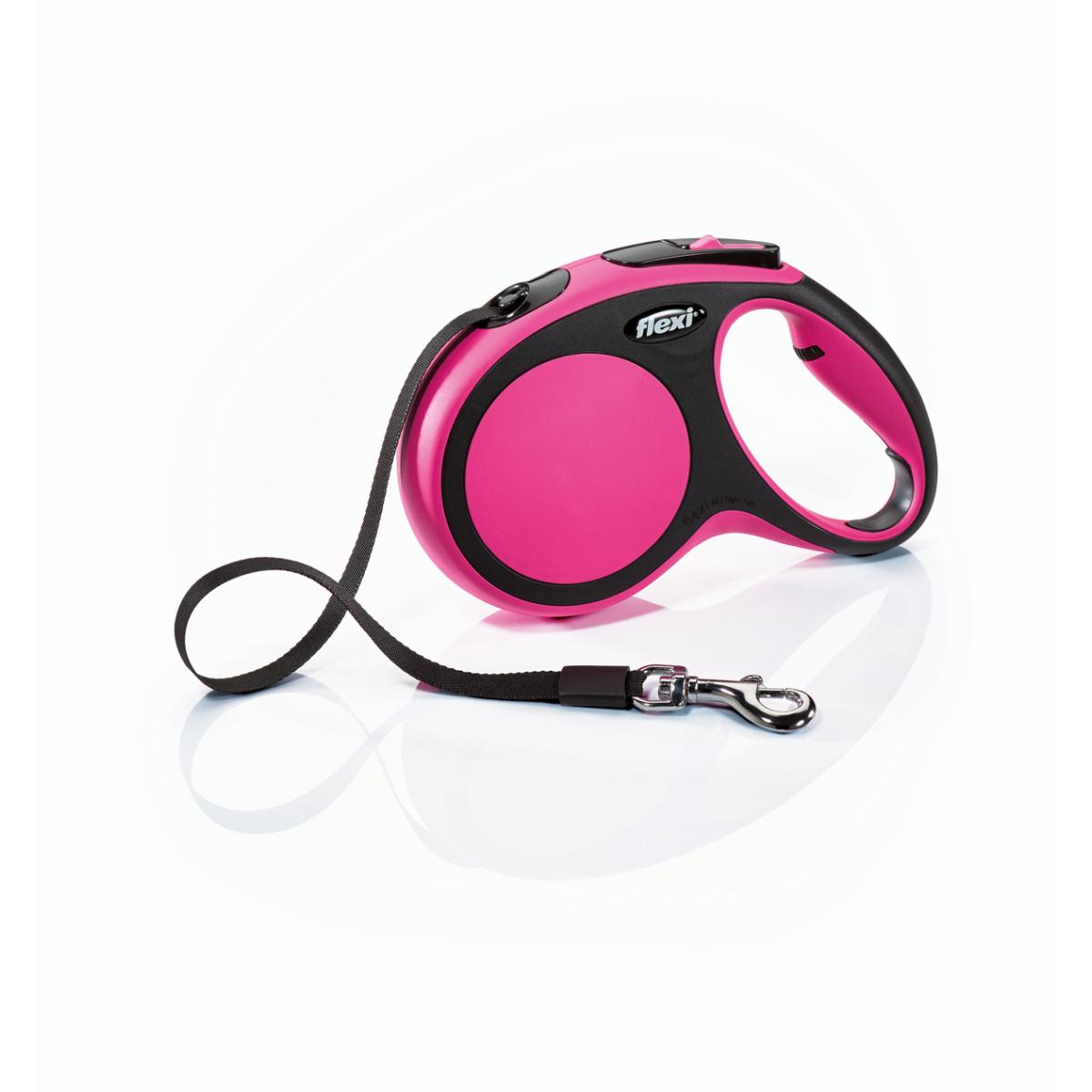 Flexi - new comfort tape m - 5 m roze