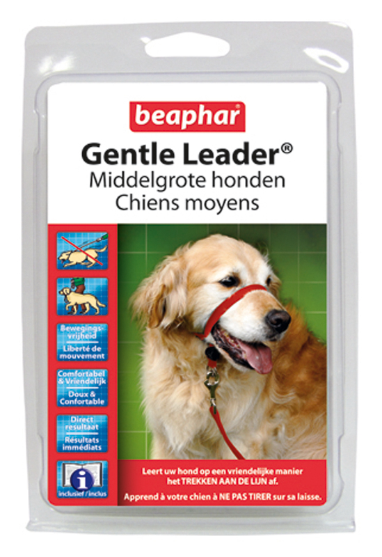 BEA GENTLE LEADER ROOD MEDIUM 00001