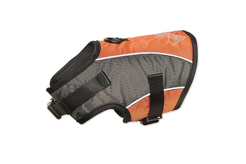 Productafbeelding voor 'Touchdog - harnas met lijn oranje'