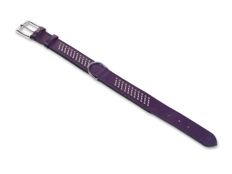Nobby - halsband shiwa lila