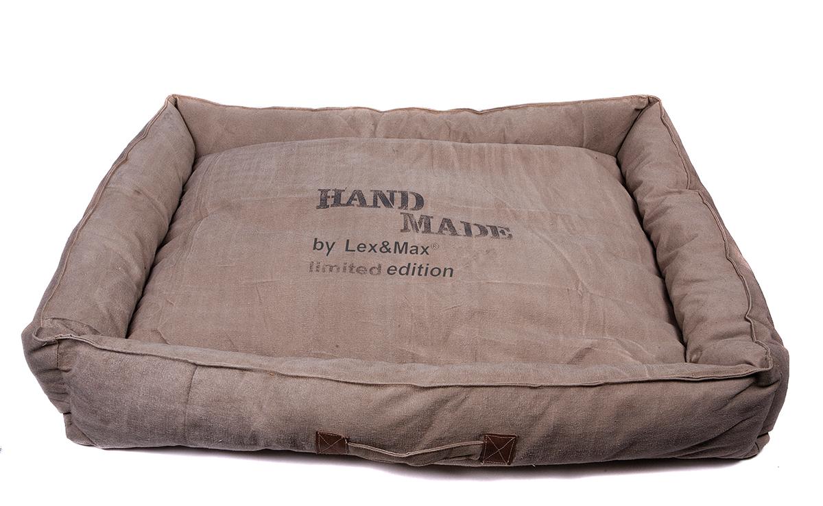 Productafbeelding voor 'Lex & max - hondenmand handmade beige'