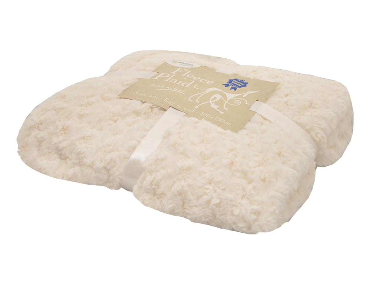 Nobby - deken modern beige