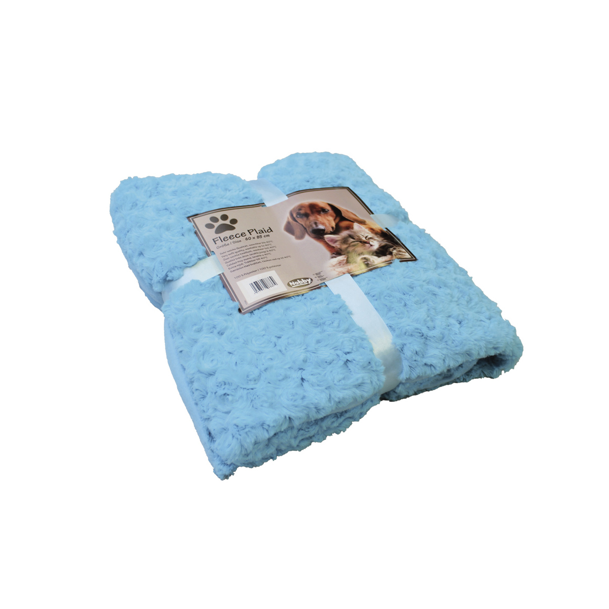 NB DEKEN FLEECE BLAUW 60X85 00001