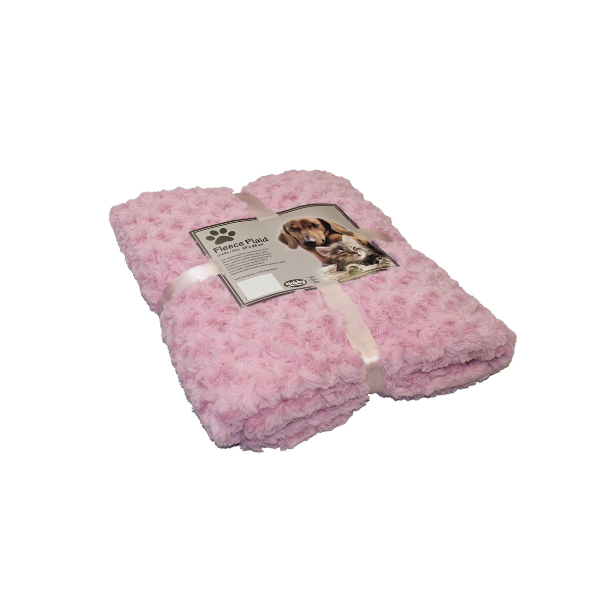 NB DEKEN FLEECE ROZE 60X85 00001