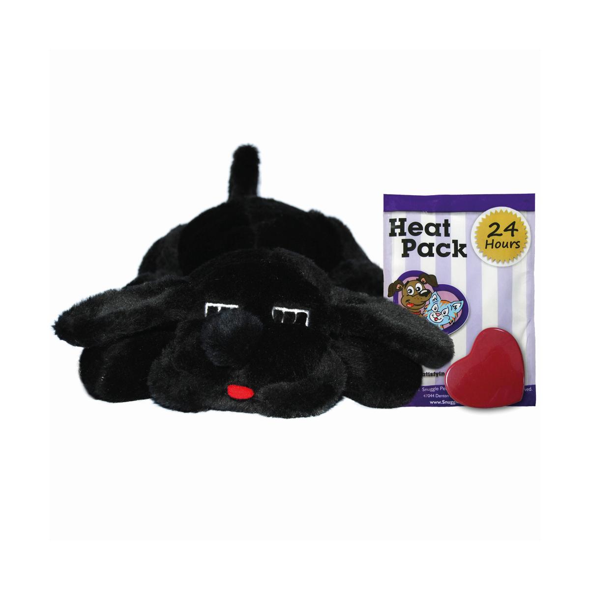 Snuggle puppy -kalmerende knuffel zwart