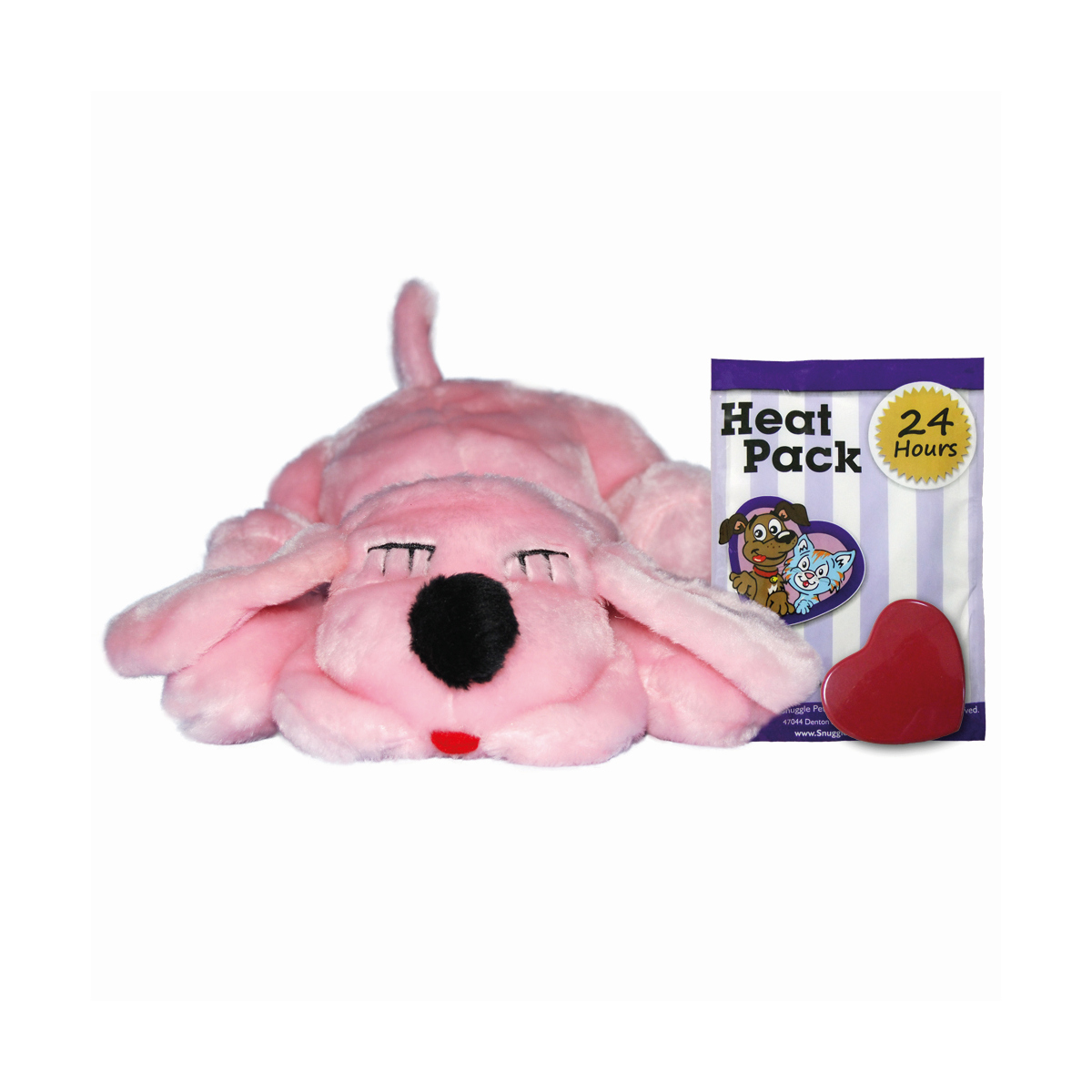 Snuggle puppy - kalmerende knuffel it's a girl roze