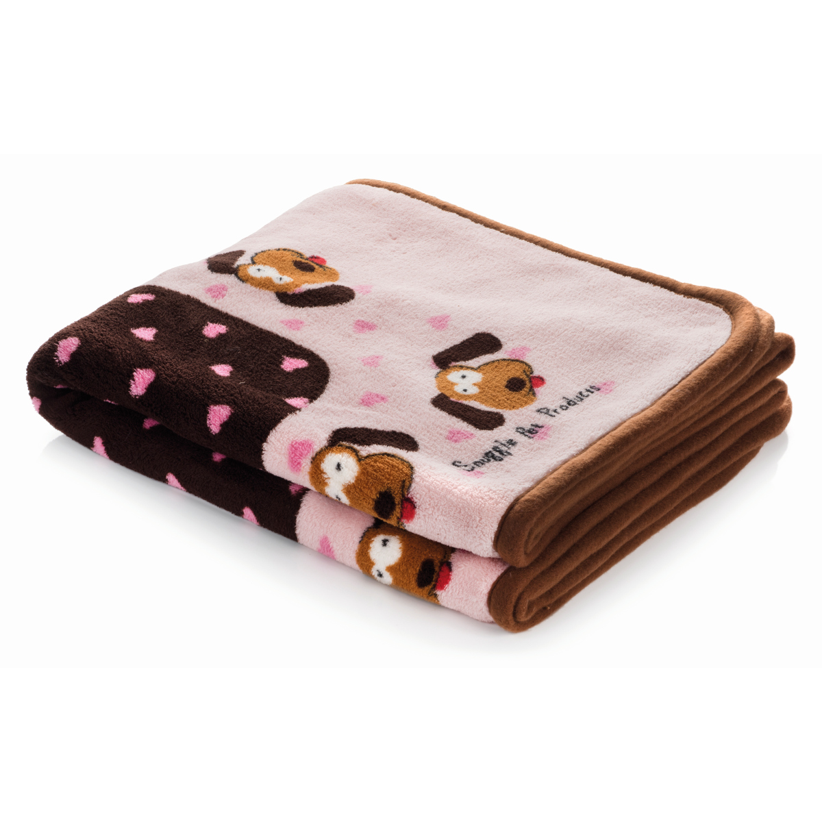 Smart pet love - snuggle blanket roze